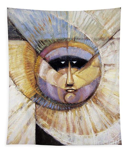 Western Solarmask Tapestry