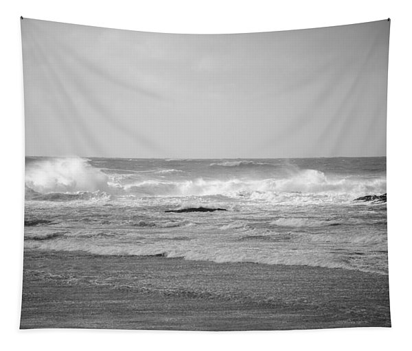 Wind Blown Waves Tofino Tapestry