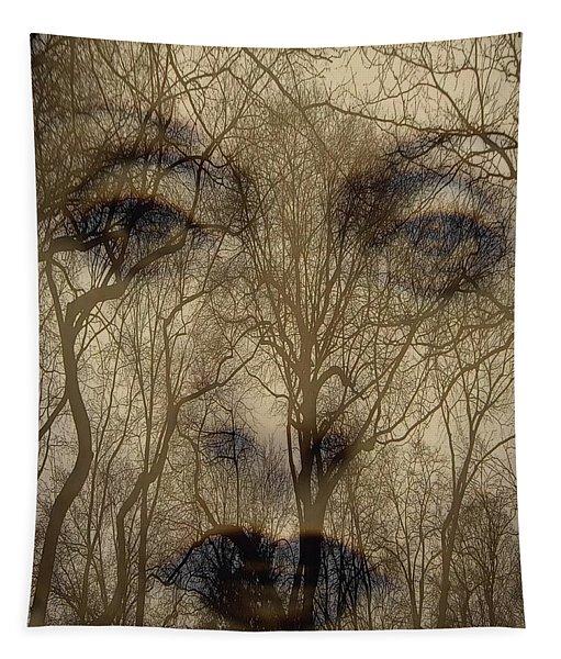 Asphalt - Portrait Of A Lady 2 Tapestry
