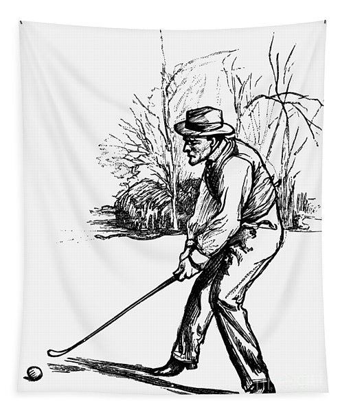 Golf, C1920 Tapestry