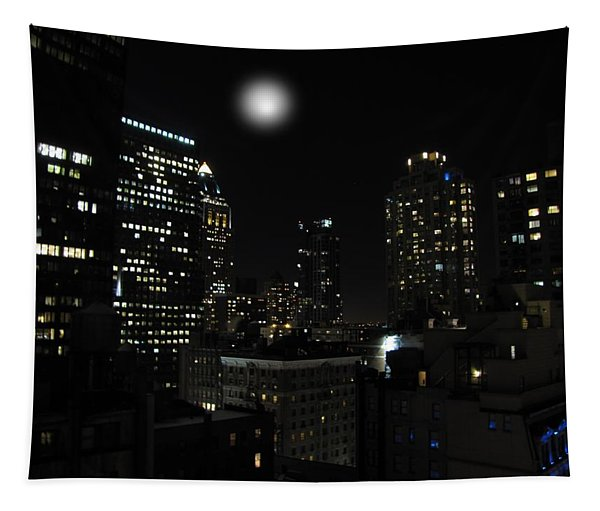 Gotham City Tapestry
