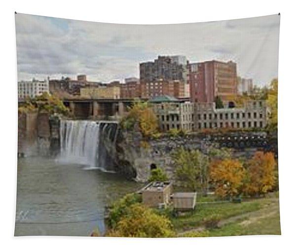 High Falls Panorama Tapestry
