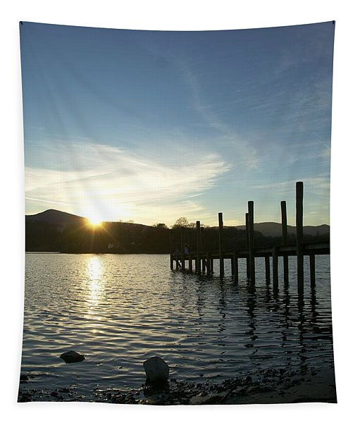 Lake District Sunset Tapestry