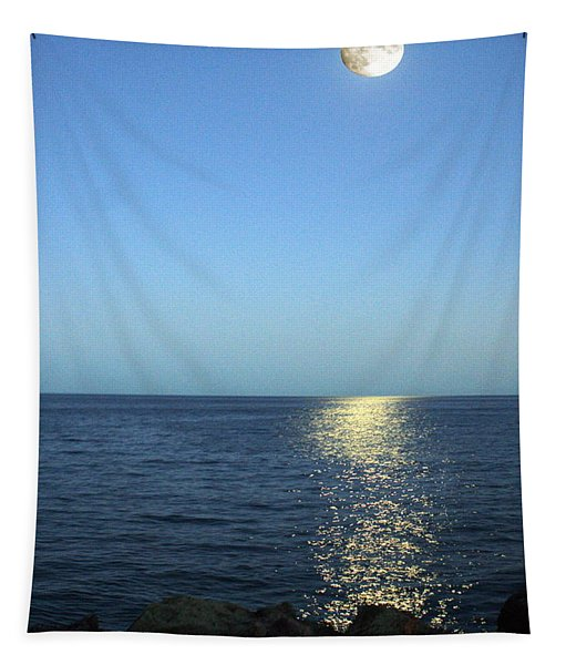 Moon And Water Tapestry