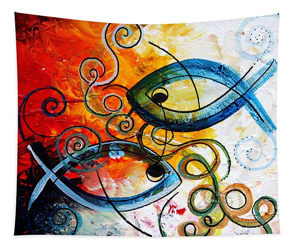 Purposeful Ichthus By Two Tapestry