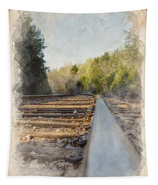 Riding The Rail II Tapestry