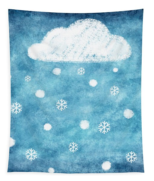 Snow Winter Tapestry