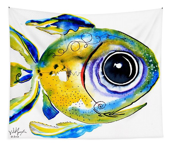 Stout Lookout Fish Tapestry