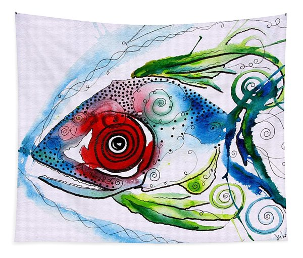 Wtfish 001 Tapestry