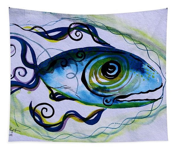 Wtfish 009 Tapestry