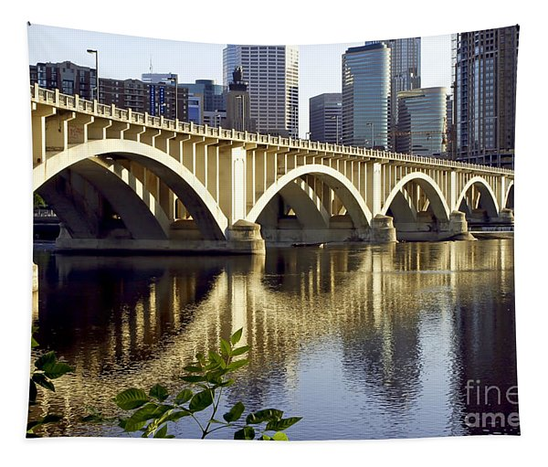 0333 3rd Avenue Bridge Minneapolis Tapestry