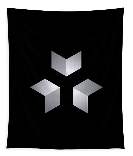 3 Cubes Tapestry