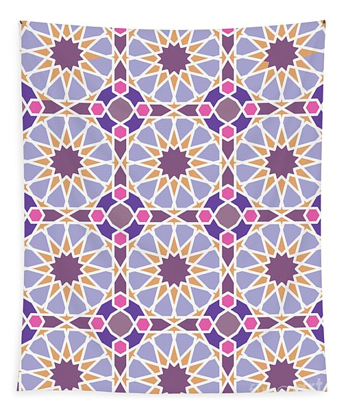 Geometric Pattern Tapestry