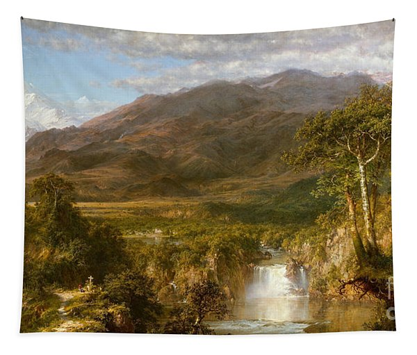 Heart Of The Andes Tapestry