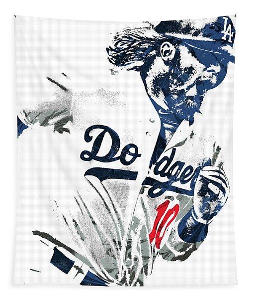 Justin Turner Los Angeles Dodgers Pixel Art Tapestry