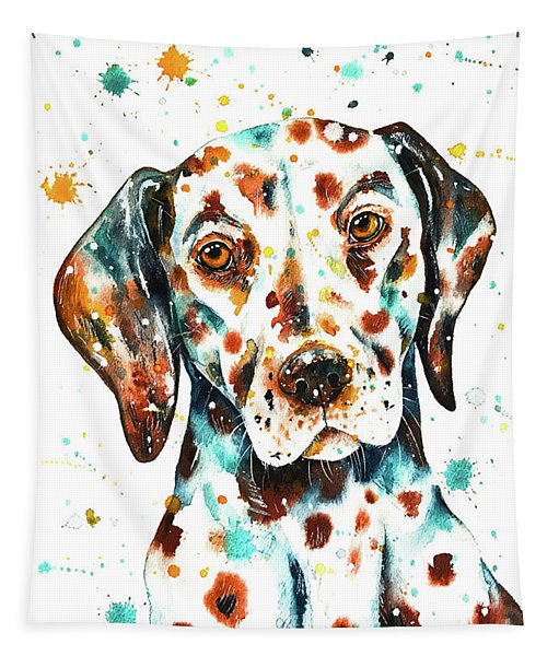 Liver-spotted Dalmatian Tapestry