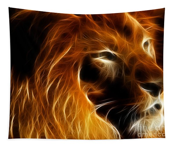 Lord Of The Jungle Tapestry