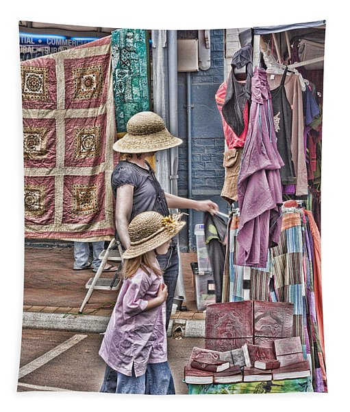 Matching Hats Tapestry