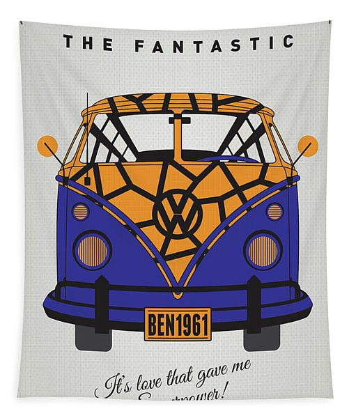 My Superhero-vw-t1-the Thing Tapestry