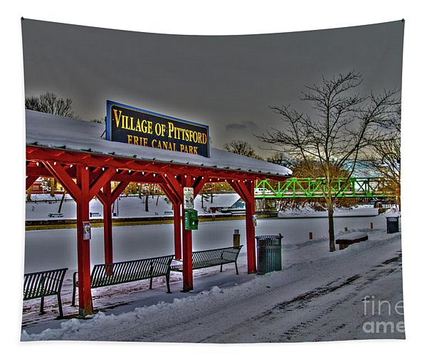 Pittsford Canal Park Tapestry