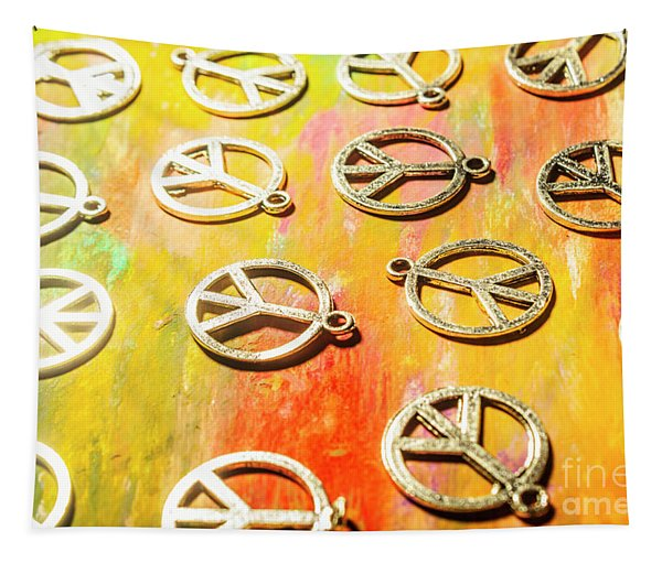 1960s Peace Movement Tapestry