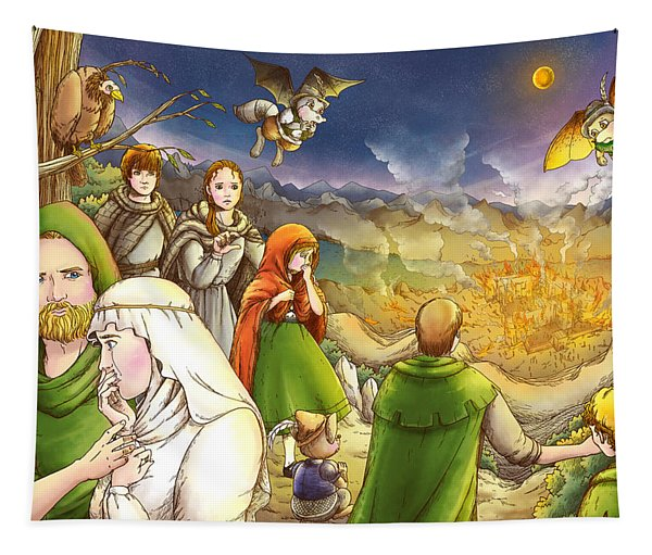 Robin Hood And Matilda Tapestry