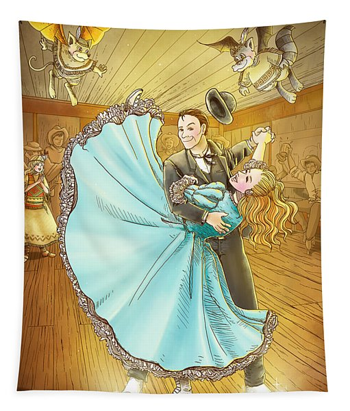 The Magic Dancing Shoes Tapestry