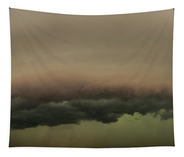 Tapestry featuring the photograph 3rd Storm Chase Of 2015 by Dale Kaminski