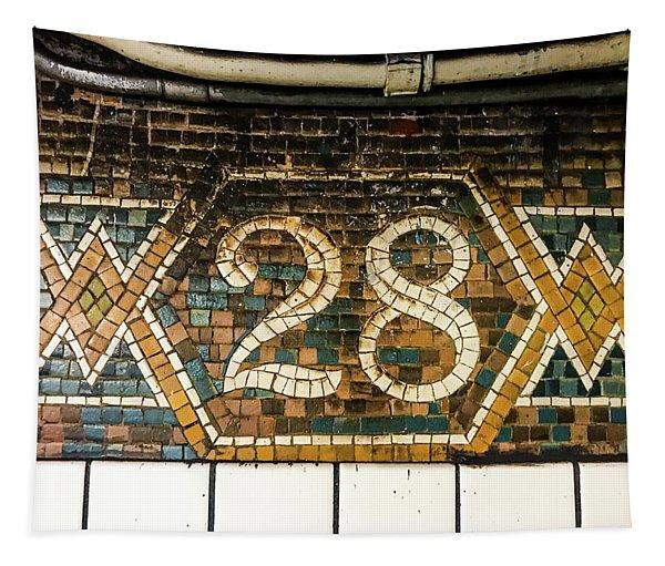 28th Street Tapestry