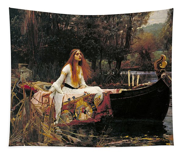 The Lady Of Shalott Tapestry