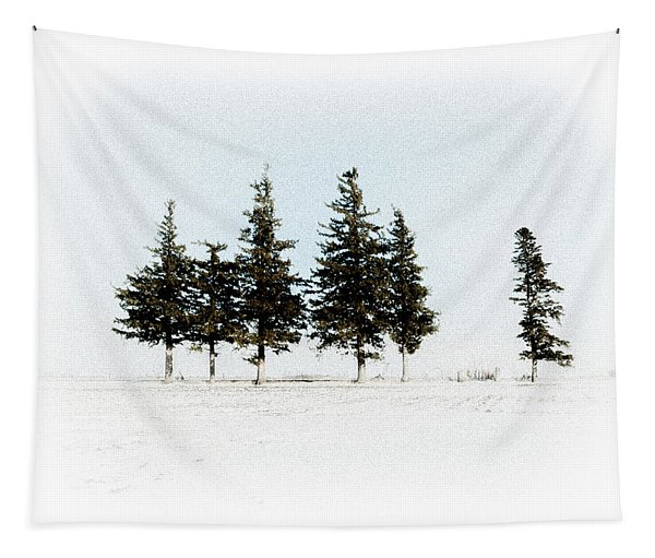 6 Trees Tapestry