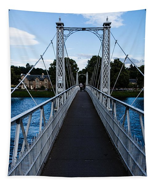 A Bridge For Walking Tapestry