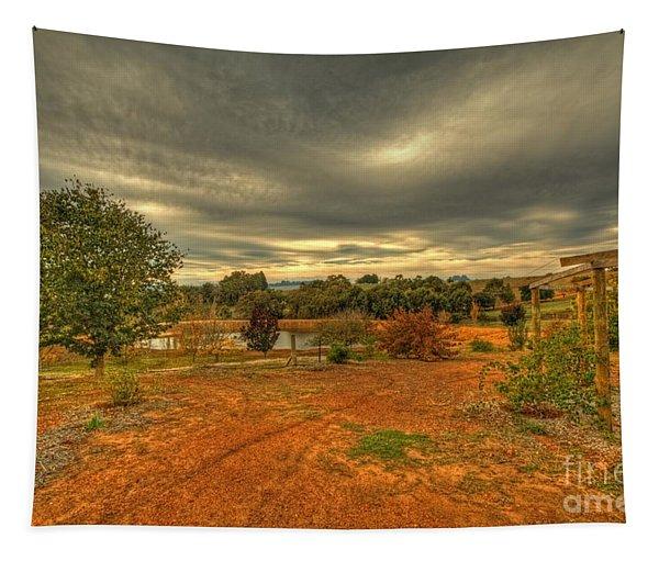 A Farm In Bridgetown, Western Australia Tapestry