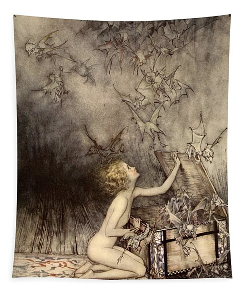A Sudden Swarm Of Winged Creatures Brushed Past Her Tapestry