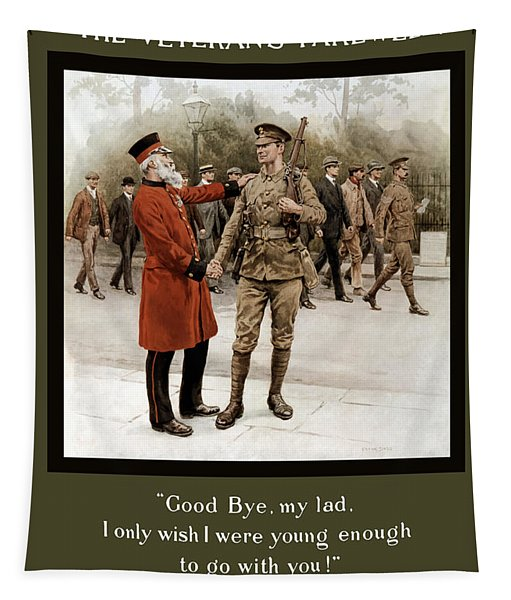 A Veteran's Farewell - Ww1 Tapestry
