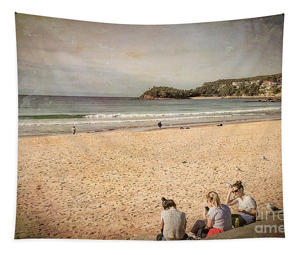 A Winter's Day In Manly Tapestry