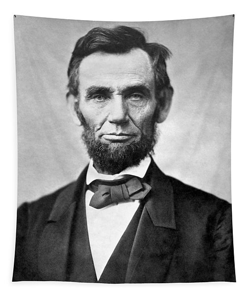 Abraham Lincoln Portrait - 1863 Tapestry