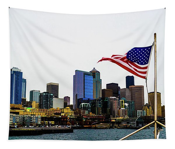 American Seattle Ic Tapestry