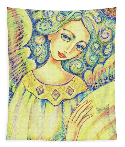 Angel Of Mercy Tapestry