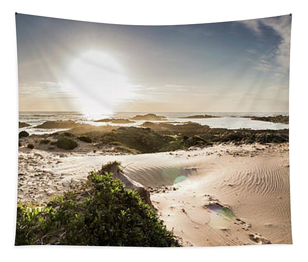 Another Beach Sunset Tapestry