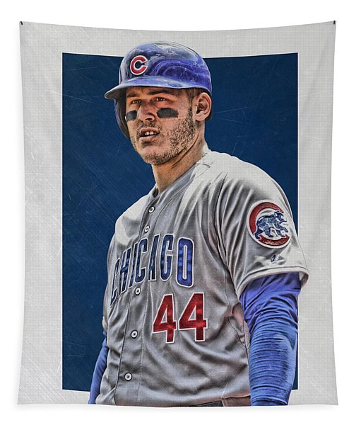 Anthony Rizzo Chicago Cubs 3 Tapestry