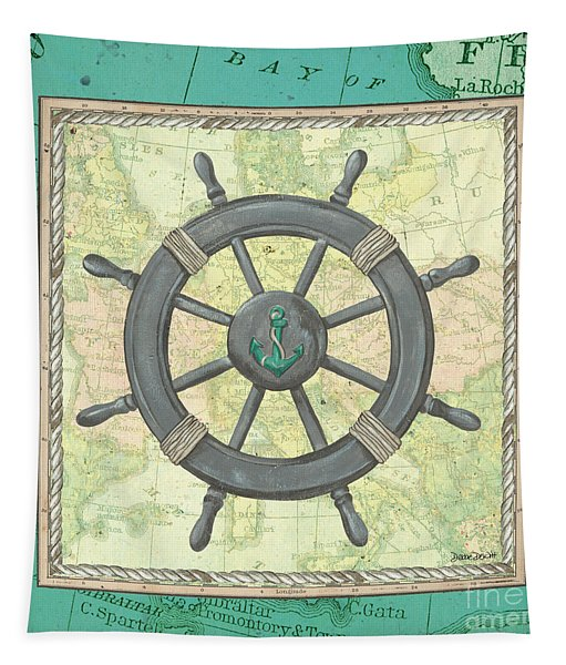Aqua Maritime Tapestry