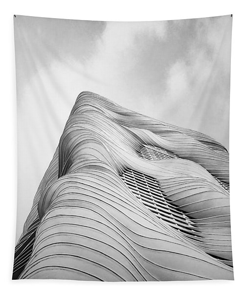 Aqua Tower Tapestry