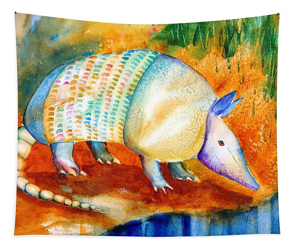 Armadillo Reflections Tapestry