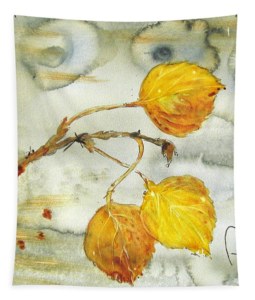 Aspen Leaves Tapestry