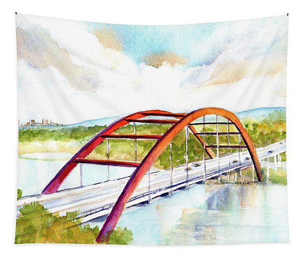 Austin 360 Bridge - Pennybacker Tapestry
