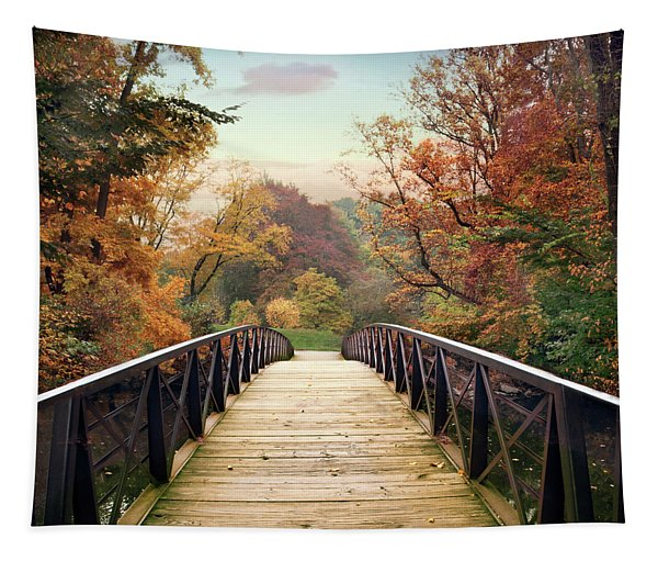 Autumn Encounter Tapestry