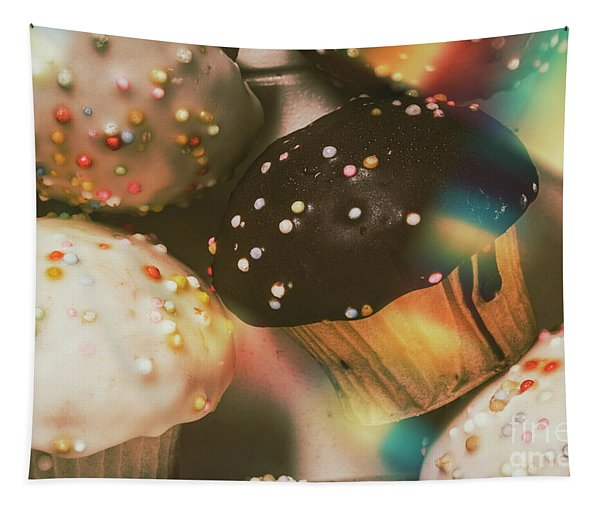 Bakers Cupcake Delight Tapestry