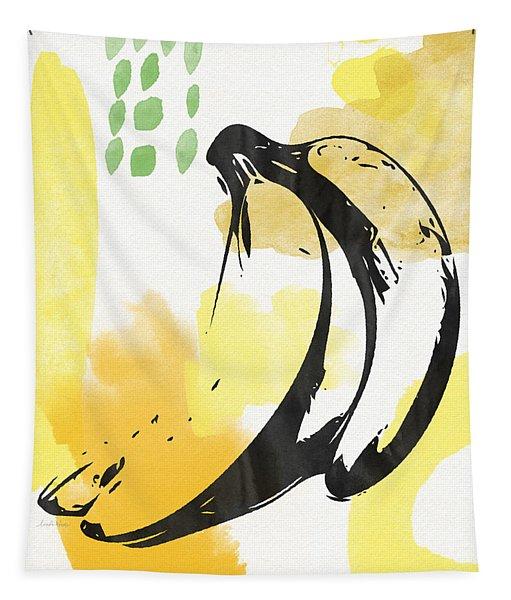 Bananas- Art By Linda Woods Tapestry
