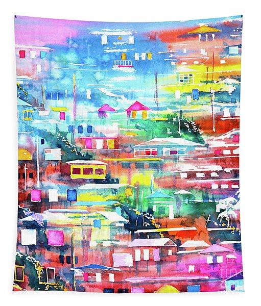 Barrio El Cerro De Yauco Tapestry
